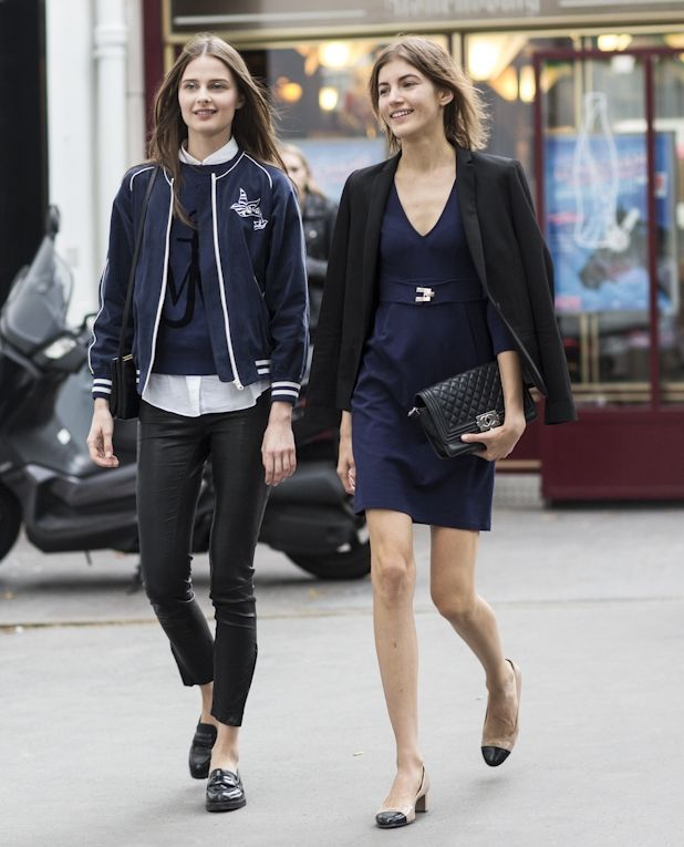 French Style Street Style Fashion Trends Pinterest
