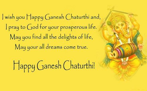 Pray For God - Tap to see more top happy Ganesh Chaturthi greetings! | @mobile9
