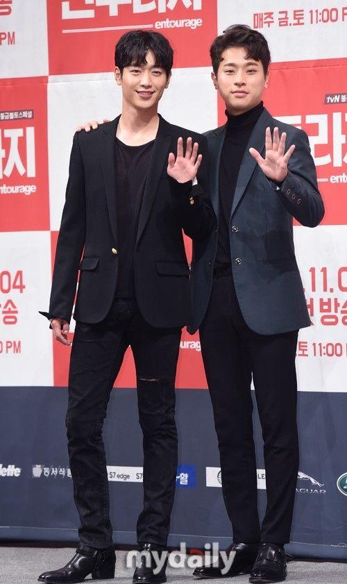 【PHOTO】ソ・ガンジュン&チョ・ジヌン&イ・グァンスら、ドラマ「アントラージュ」制作発表会に出席 - DRAMA - 韓流・韓国芸能ニュースはKstyle