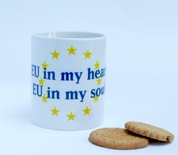 anti brexit mug brexit mug Remainer mug EU mug by mugheads