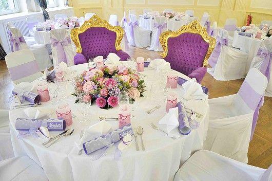 Der Hochzeitssaal –und was für ein schönes Fest!