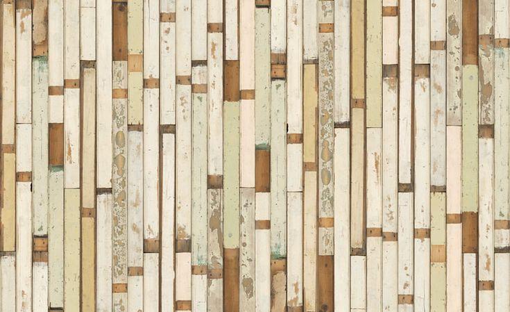faux reclaimed wood wallpaper wallpaper pinterest