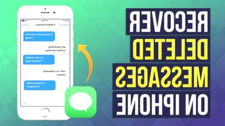 3 Ways To Recover Deleted Messages On Iphone 2019 Recover