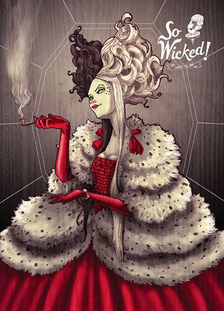 Disney Villain Fan Art - So Wicked Series — GeekTyrant