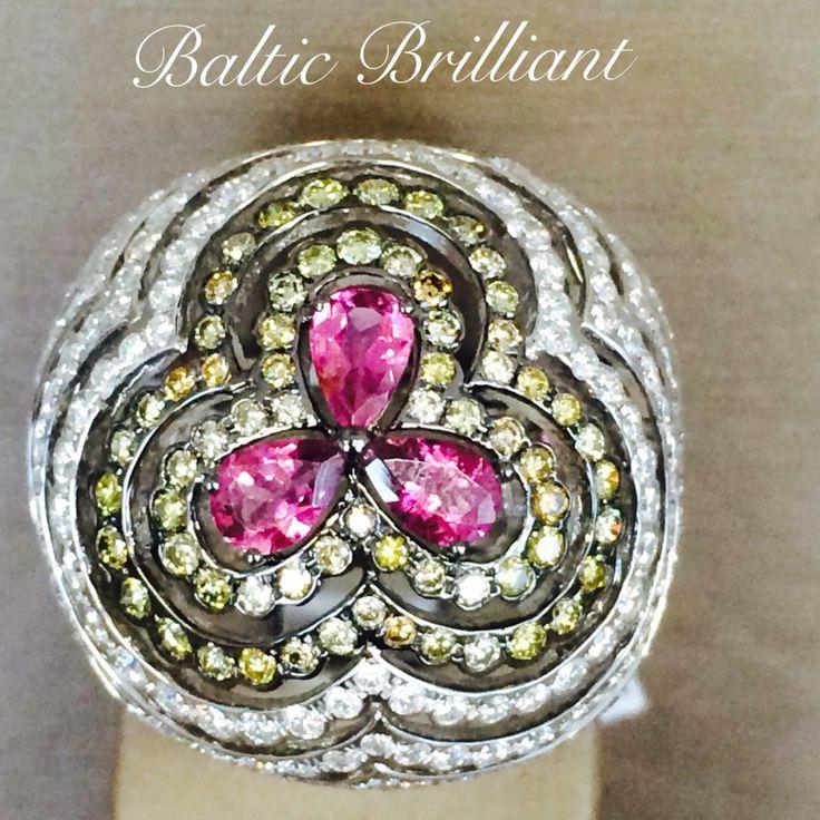 Diamond Ring #cocktailring#fabulous