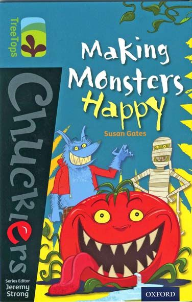 "2014 ""Making Monsters Happy"", published Oxford University Press, illustrated by Steve May. Jeremy Strong says: ""What a rib tickler. Would you be brave enough to help a monster? Manu is!""    Find it on Amazon at http://www.amazon.co.uk/Oxford-Reading-Tree-TreeTops-Chucklers/dp/019839179X/ref=sr_1_1?ie=UTF8qid=1390065153sr=8-1keywords=Making+Monsters+Happy"