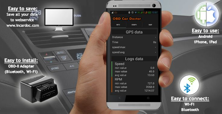 Real time diagnostic of the car with OBD Car Doctor Application for Android and iOS (iPhone and iPad)! OBD Car Doctor is a useful application for Android/iOS based mobile, allowing reading dynamic and stored parameters of ECU of the vehicles supporting OBD-II standard and multiple ECU data reading.