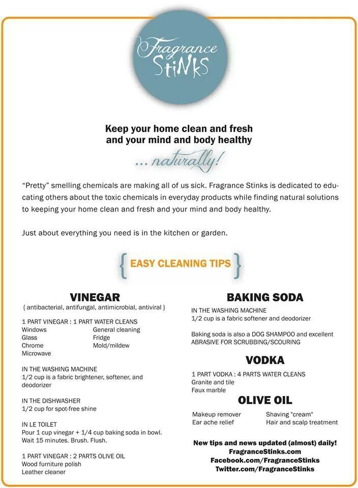 Easy Natural Cleaning Tips