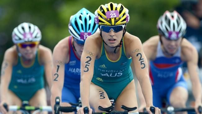 Triathlete Ashleigh Gentle races into Rio Olympic 2016 contention, triathlon, Montreal, women in sport, Swoop | DailyTelegraph