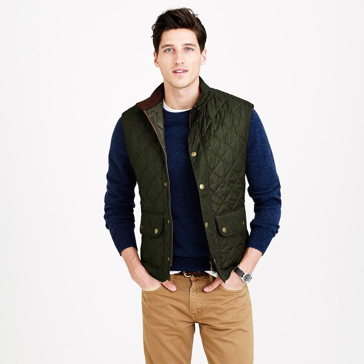 Barbour® Lowerdale quilted vest - Barbour - Men's outerwear - J.Crew