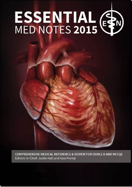 TORONTO NOTES 2015 PDF (Essential Med Notes 2015) - Free Medical Books