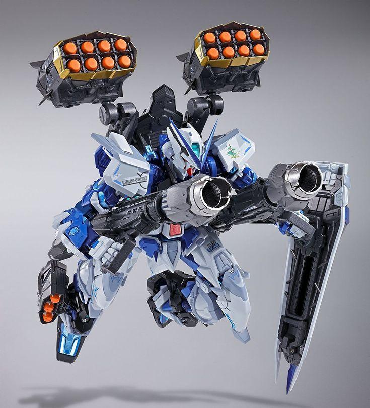 "Bandai Tamashii Nations - Metal Build Astray Blue Frame ""Gundam Seed Astray"" Full Action Figure"