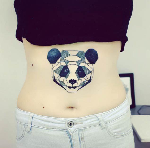 362 best panda tattoos images on pinterest panda tattoos for Baby panda tattoo