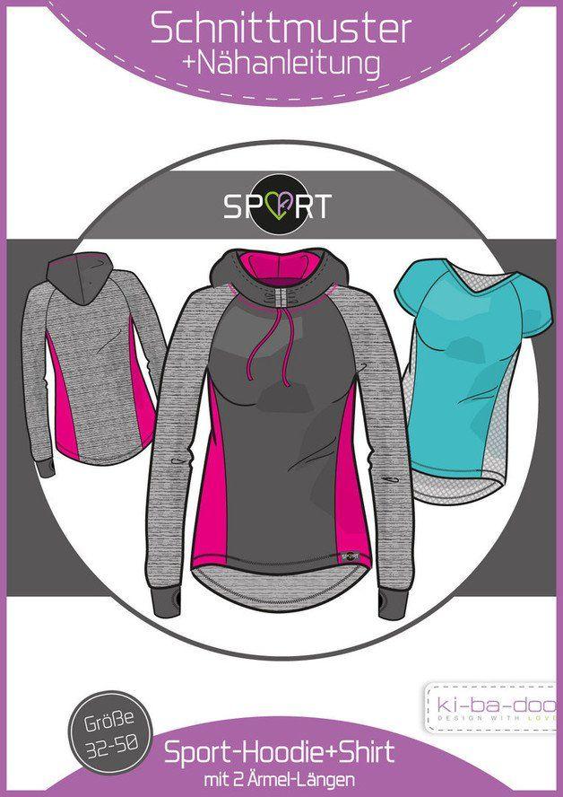 **Sporthoodie/-Shirt   Ki-ba-doo SPORT ist eine Kollektion, die speziell für bi-elastische Funktionsstoffe erstellt wurde. Denn diese erfordern eine…