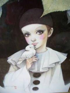 Pierrot by Mira Fujita