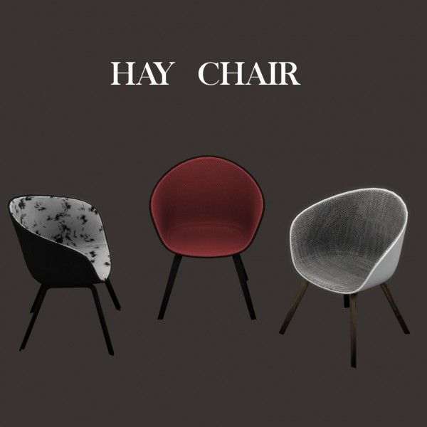 Leo Sims - Hay chair for The Sims 4