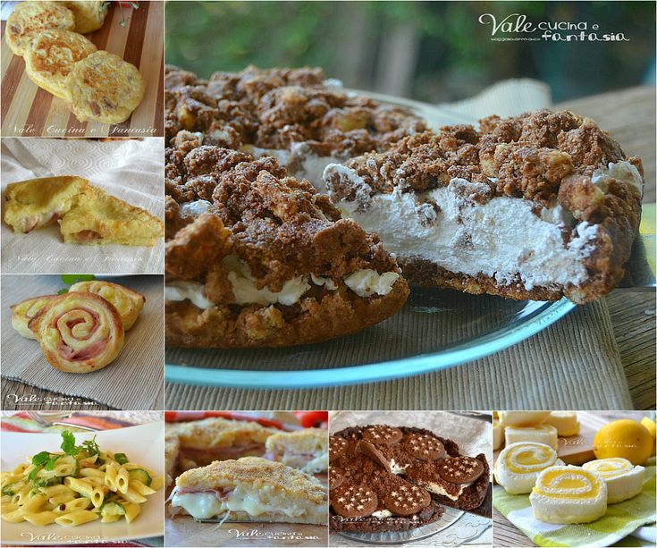 Raccolta di ricette veloci dall'antipasto al dolce