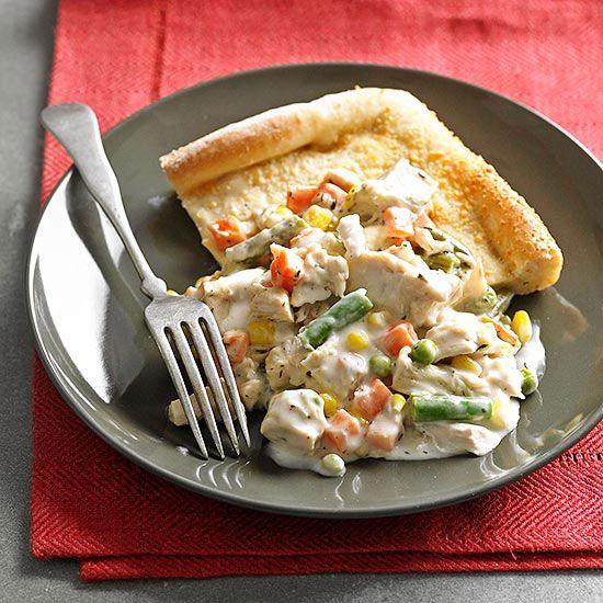 ... Vegetables Pots, Pot Pies, Pizza Dough, Chicken Pots, Creamy Chicken