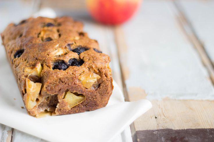 raw food vegan recepten appelcake