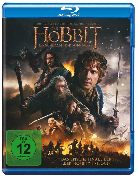 Der Hobbit 3 Blu Ray Release