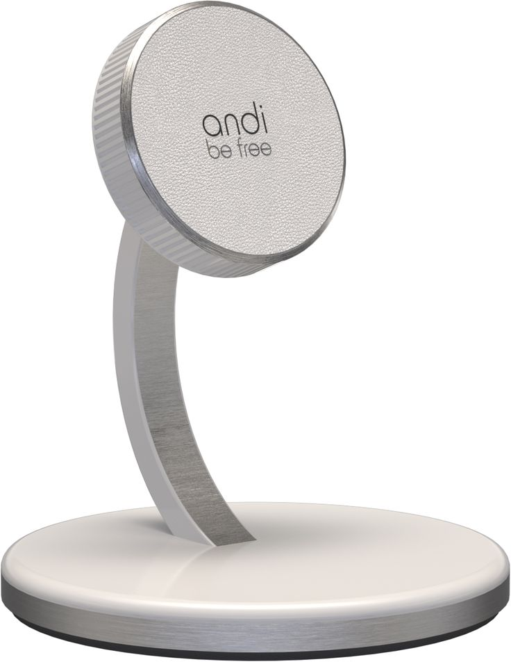 With the timeless and fascinating design of the andi wireless desktop charger, you can easily integrate your device in your modern office or in your living room. It meet the needs of battery charging in a remarkable way. At the same time it serves as a bracket for your indispensable smartphone. From now on you can use your smartphone as a screen for everyday applications.