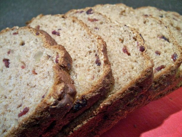 This is a geat healthy bread for the bread machine.  It is great toasted or for sandwiches.  I make a two pound loaf every weekend and it never lasts long enough.  Be sure to start with all ingredients at room temperature.