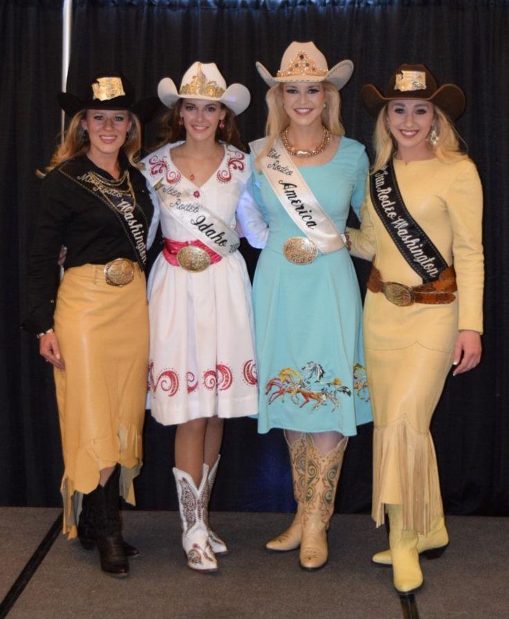 Miss Rodeo Washington, Miss Teen Rodeo Idaho, Miss Rodeo America, Miss Teen Rodeo Washington
