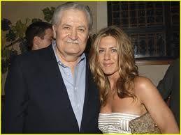 John Aniston and his daughter Jennifer Aniston