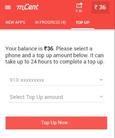 mcent unlimited free recharge tricks
