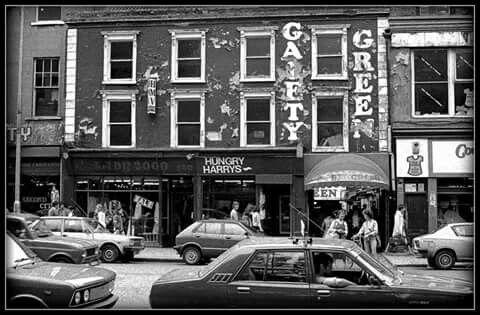 Entrance of the Dandelion Market, Dublin late 70's.