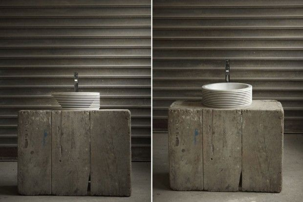 Lavabo Introverso par Paolo Ulian pour Antoniolupi - Journal du Design