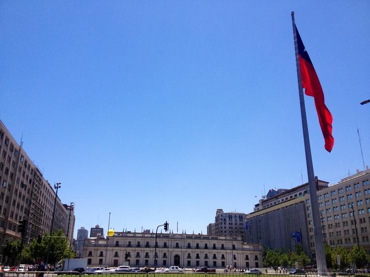 Palacio de La Moneda | La Moneda government palace #Santiago #Chile