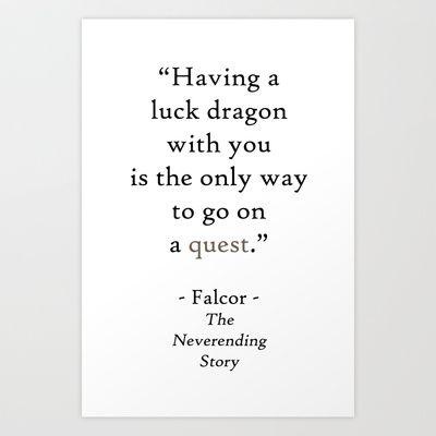 The Neverending Story / Falcor (Falkor)