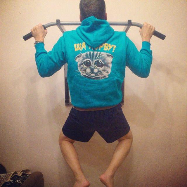 #sibworkout1 Мое любимое упражнение. Конкурс от @rusdudnik Неделю назад я так подтянуться не мог.