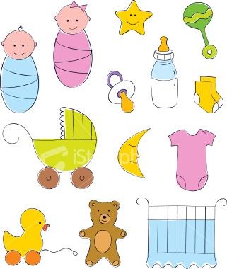 Baby Cartoon Collection containing baby boy, baby girl