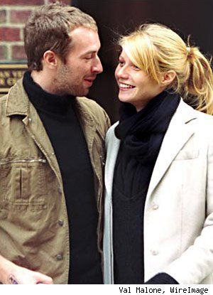One of my fav couples! Chris Martin and Gwyneth Paltrow