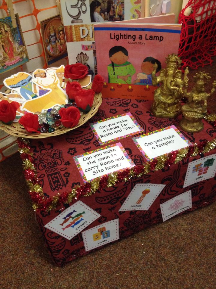 Diwali construction area - can you make a temple?