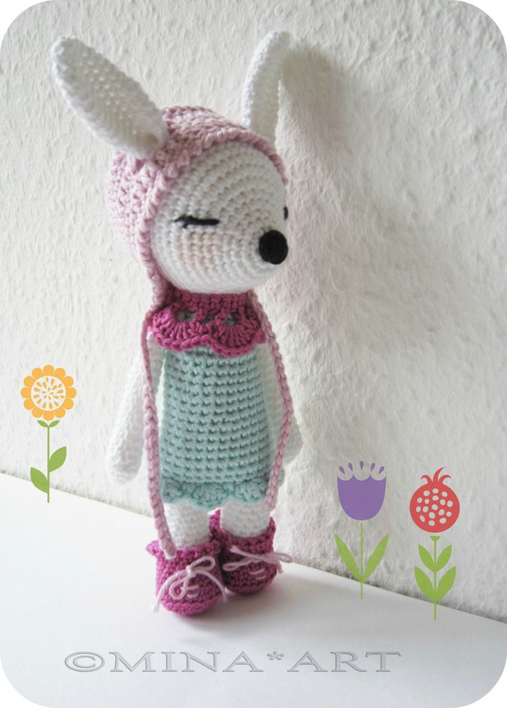 crochet Harriet The Montain Hare