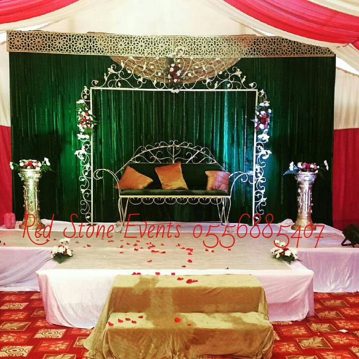 Simple wedding stage decoration wedding stage decoration for Arab wedding stage decoration
