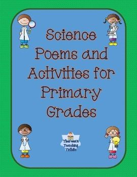 Science Poems are a great way to integrate science instruction with your literacy instruction. Reading these poems with your students will stimulate their interest in science, introduce vocabulary, and increase understanding of science concepts. $