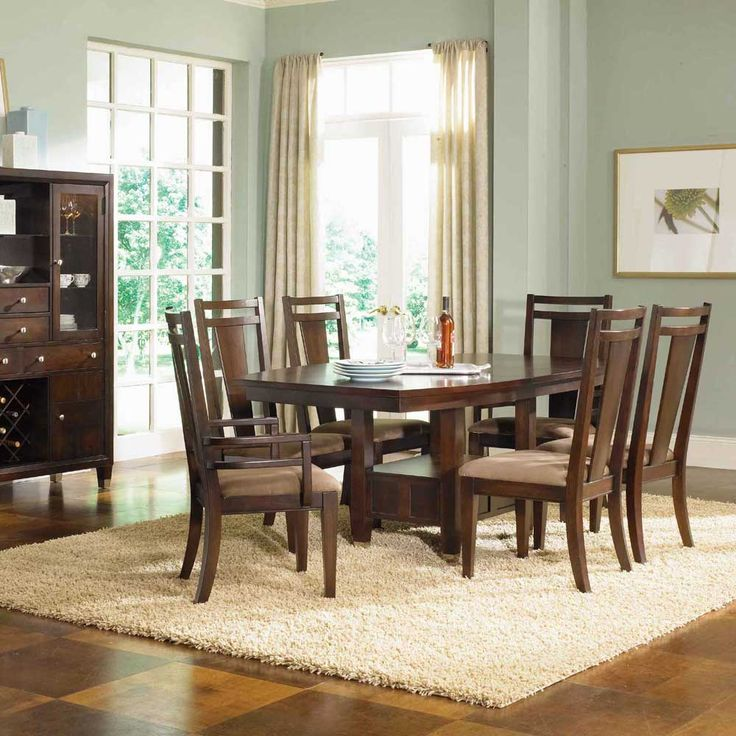 Northern Lights, Northern Lights Convertible Height Pedestal Dining Table, Dining  Room Table Sets, Bedroom Furniture, Curio Cabinets And Solid Wood ...