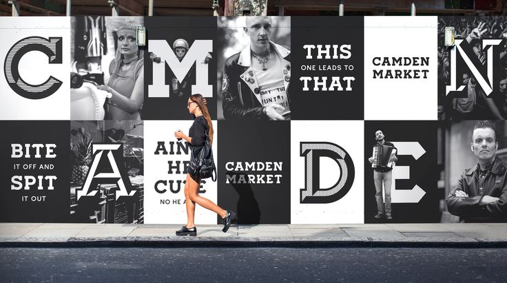 Ragged Edge has redesigned Camden Market's brand and visual identity.