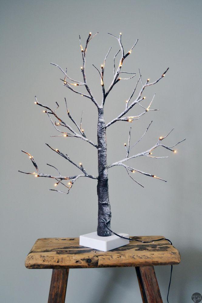Small Luxury Light Up Tree Outdoor Indoor Use LED Twig Tree Christmas Tree Weddi Trees ...