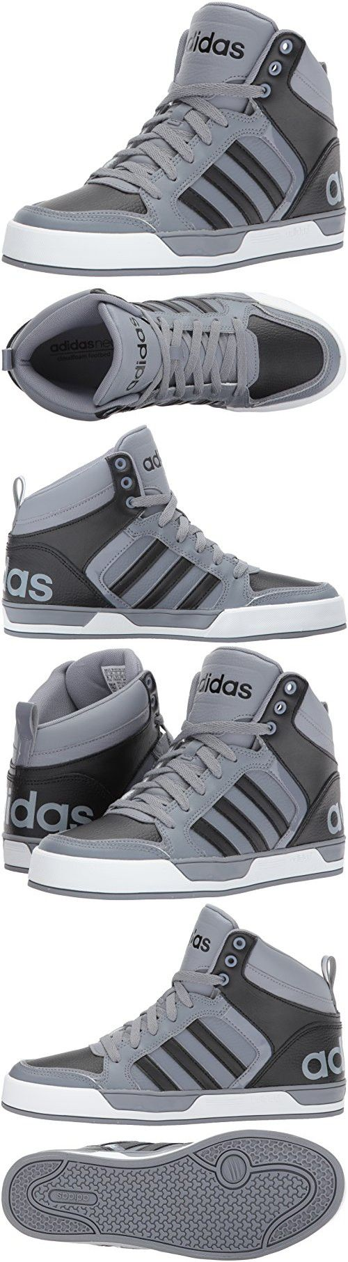 Details about Adidas Neo Cacity Mid Men's Trainers Hi Top Basketball Shoes Black