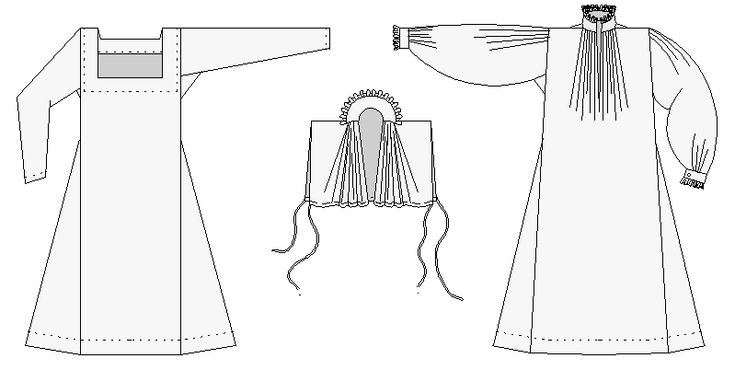 chemise+with+ruffle+pattern+elizabethan   Hope this helps. Margo knows her stuff when it comes to Period ...