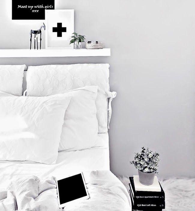 Hermosa recámara en blanco de Katerina Dima   Little*Haus Katerina Dima's lovely white bedroom
