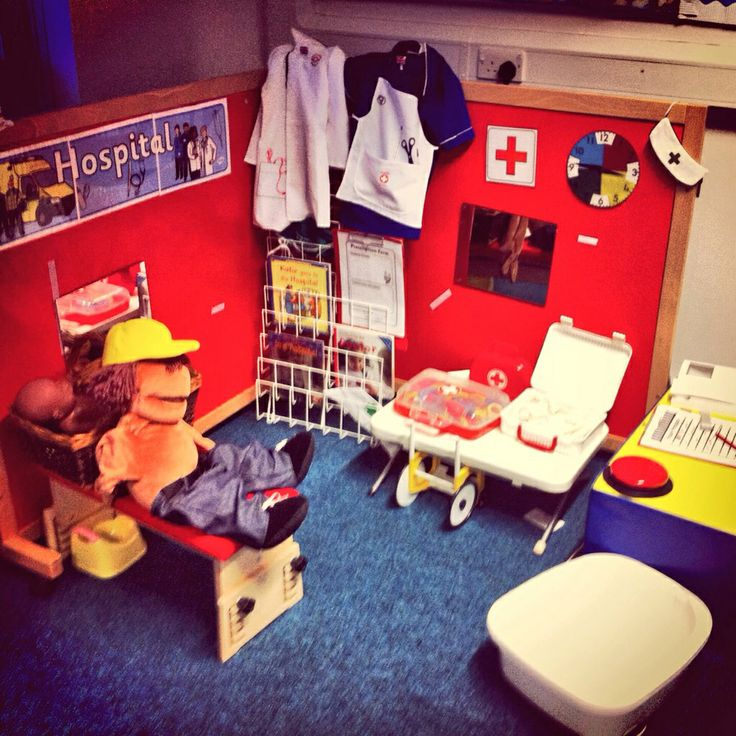 Hospital role-play area