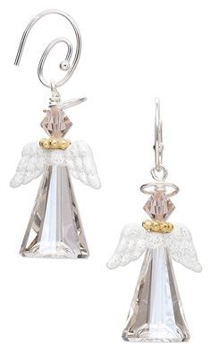 Jewelry Design – Earrings with Swarovski Crystal, …