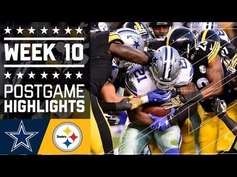 Cowboys vs. Steelers | NFL Week 10 Game Highlights - NFL News Videos