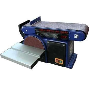 Promax PM-72501 Bant / Disk Zımpara Makinası Bu Bant ve Disk Zımpara  Makinası Kapıda Nakit veya Kredi hariç her türlü ödemede Kargo Ücretsizdir     TEKNİK VERİLERİ : Çalışma Voltajı:Ç230V.AC/50 Hz. Motor Gücü:375 Watt Devir Hızı:2.800 d/dak. Bant Zımpara:4''x36'' Disk Zımpara:6'' Tabla Ölçüsü:225x159 mm Tabla Eğimi:0-45° Bant Zımpara Tabla Eğimi:0-90° Ebatlar En:300 mm                      Derinlik:560 mm                      Yükseklik:260 mm Ağırlık:17 kg.  Toz Emme Bağlantısı